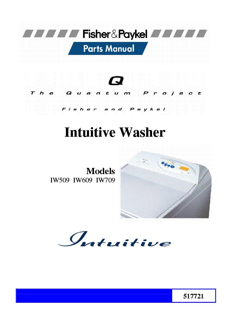Fisher-paykel mwc11 mw511 gw611 gw711 gwc11 gwm11 gwl11 iw811.