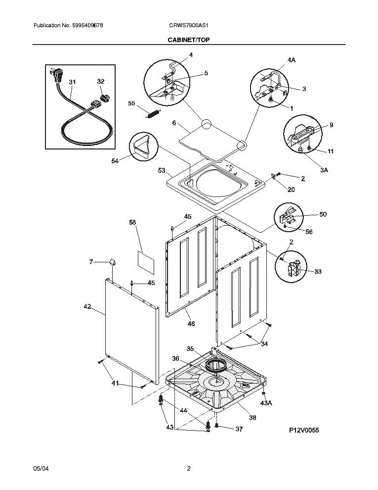 frigidaire crws7900a service manual download  schematics