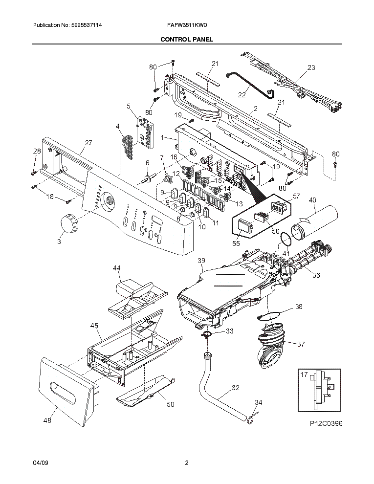 frigidaire fafw3511kw0 service manual download  schematics