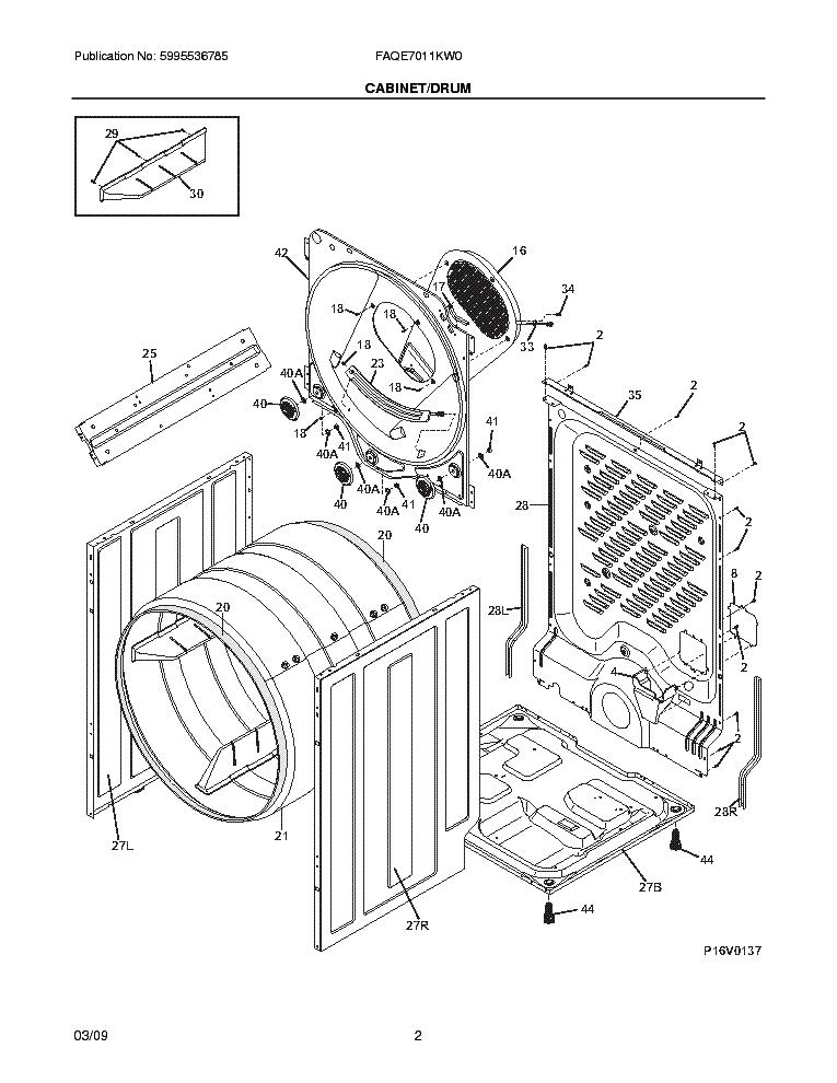 frigidaire faqe7011kw0 service manual download  schematics