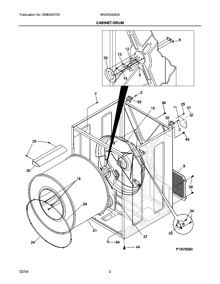 frigidaire wgr242a service manual download  schematics