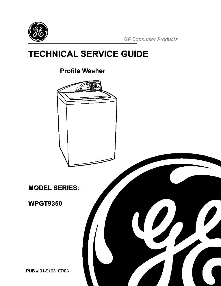 Ge Wpgt9350 Service Manual Download  Schematics  Eeprom