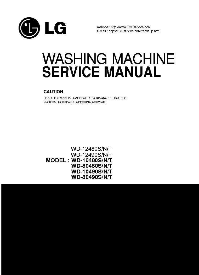 Lg Wd-10480Tp User Manual