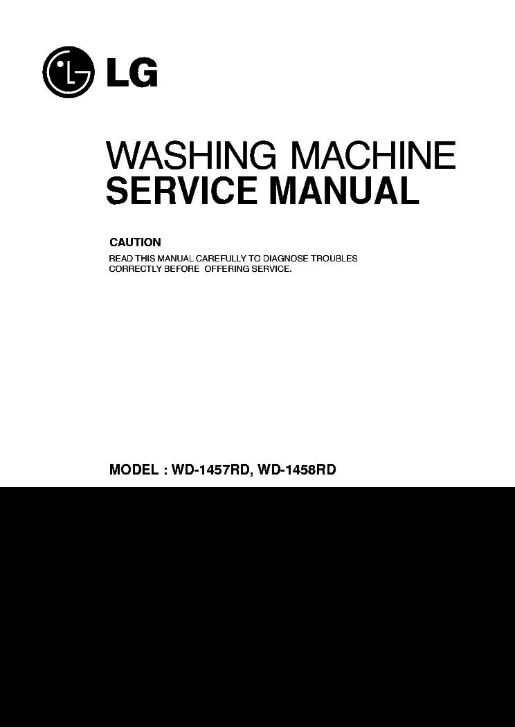lg wd 1457rd 1458rd service manual download schematics. Black Bedroom Furniture Sets. Home Design Ideas