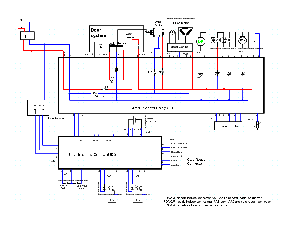 MAYTAG MAH22 WIRINGDIAGRAM Service Manual download schematics