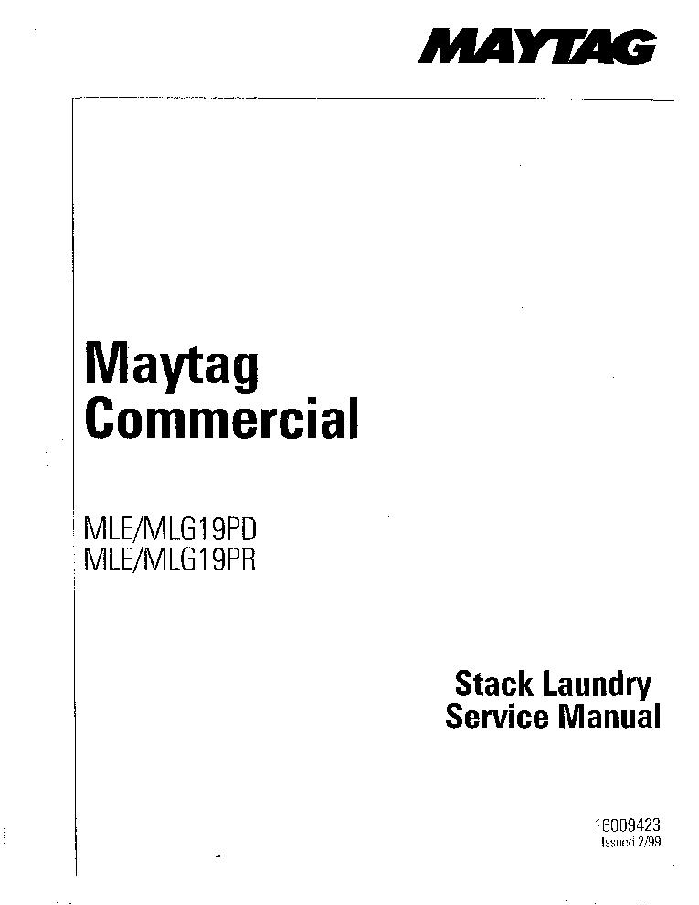maytag mle mlg19 pd pr sm service manual download schematics rh elektrotanya com Spongebob MLG MLG Memes