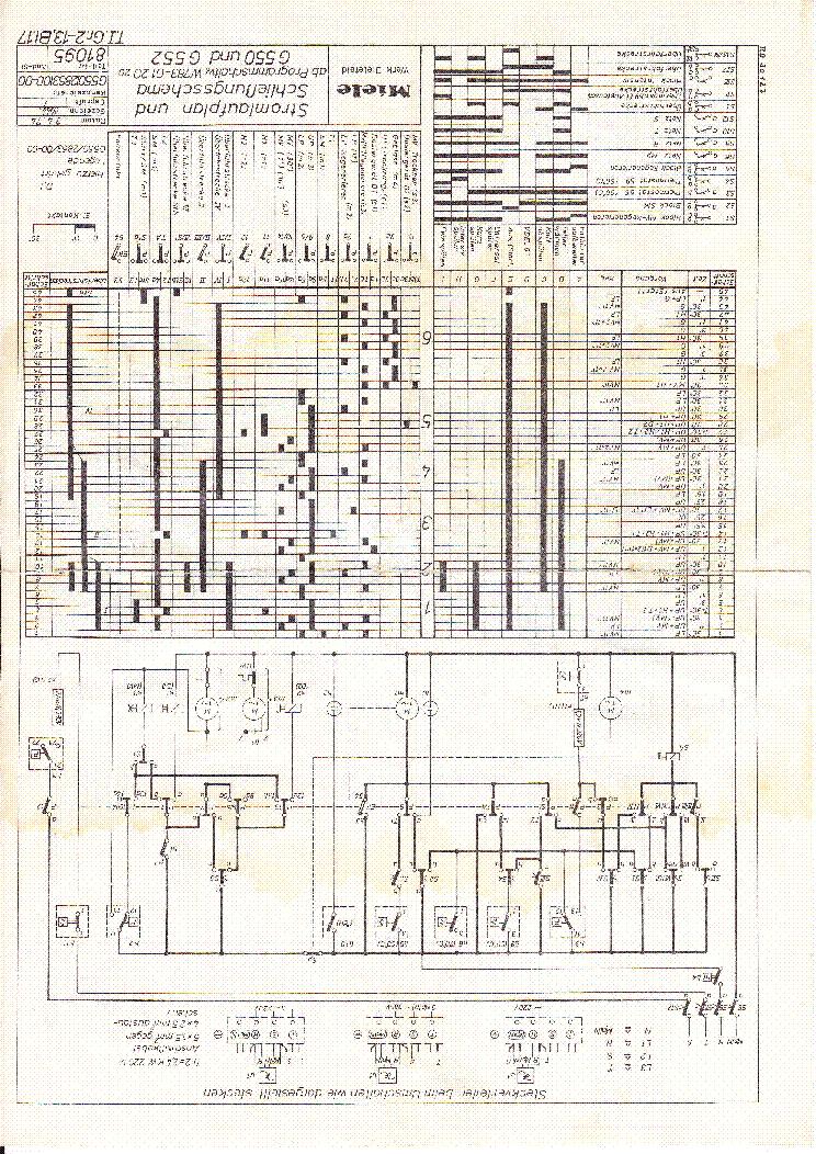 Miele G55 Und 552 Service Manual Download  Schematics