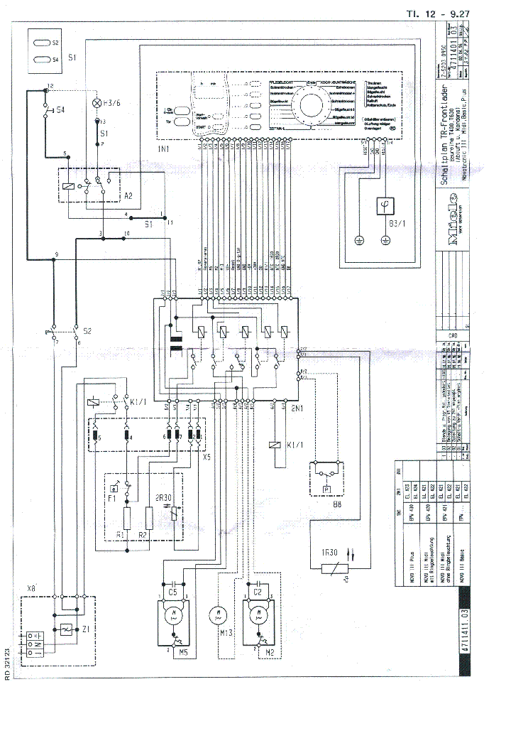 Miele Dishwasher G1220 Repair Manual