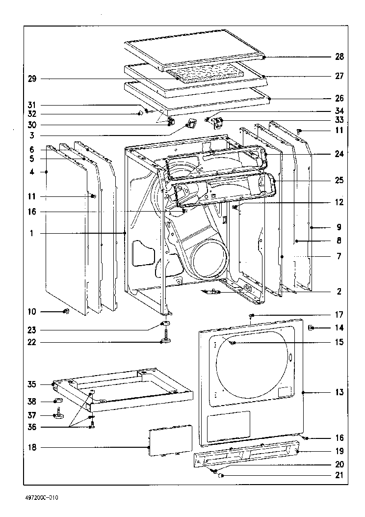 wiring diagram for frigidaire air conditioner with Washing Machine Wiring Diagram Pdf on Goldstar Air Conditioner Wiring Diagrams together with Kitchenaid Dryer Wiring Diagram as well Washing Machine Wiring Diagram Pdf also Electric Furnace Wiring Diagrams E2eb 015ha additionally Freezer Thermostat Wiring Diagram.