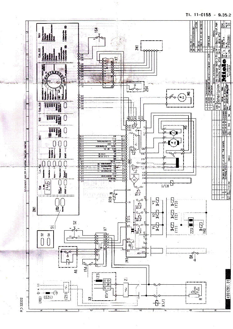 Miele Parts Diagram  Diagrams  Wiring Diagram Images