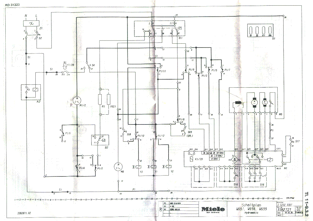 miele w413 439 service manual free download  schematics  eeprom  repair info for electronics