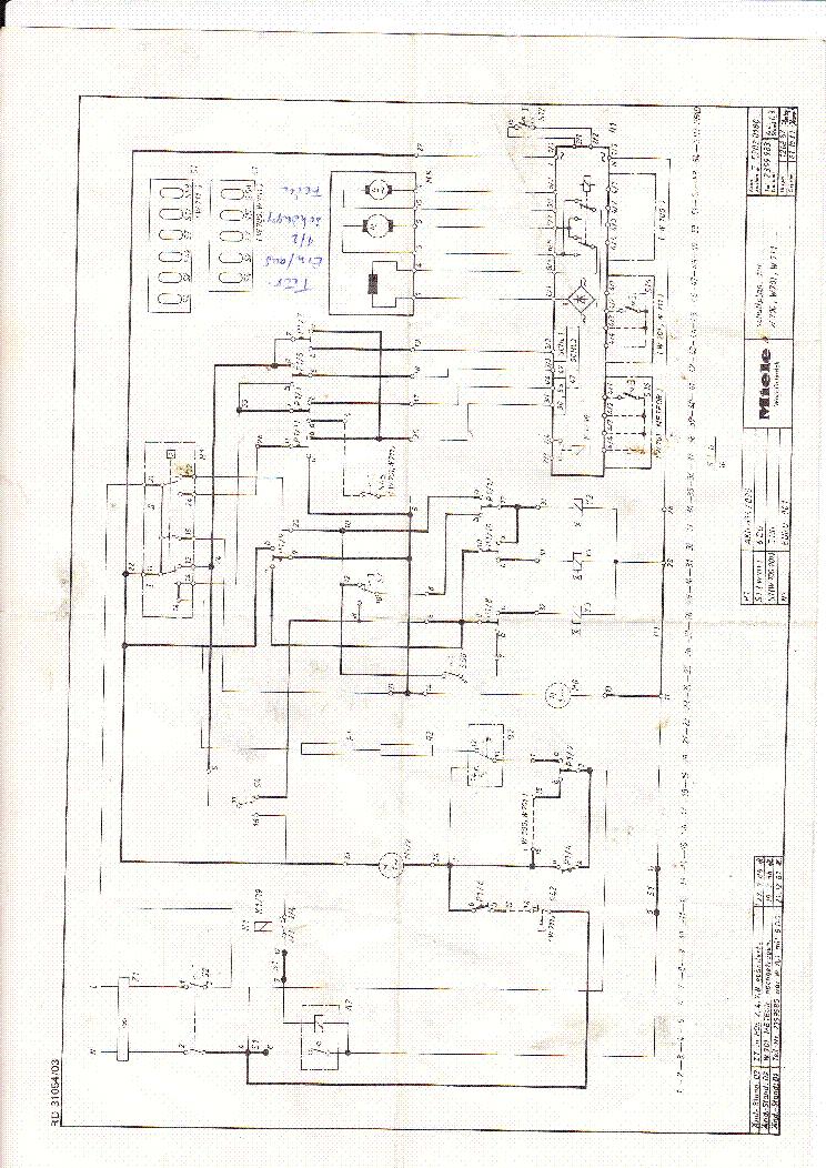 miele w701 711 service manual download  schematics  eeprom