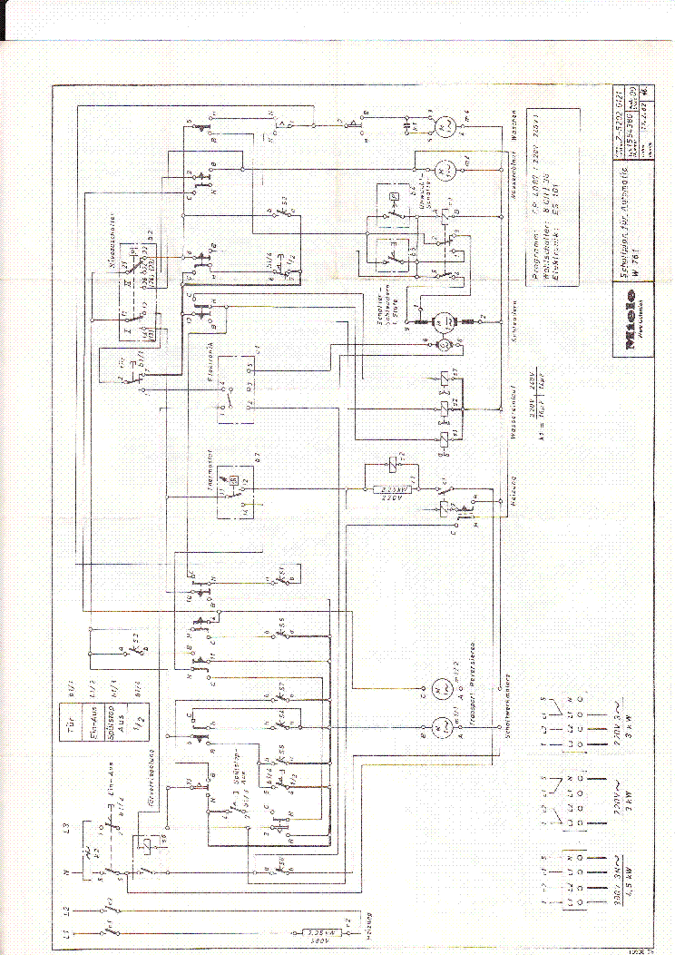 miele w761 service manual download  schematics  eeprom