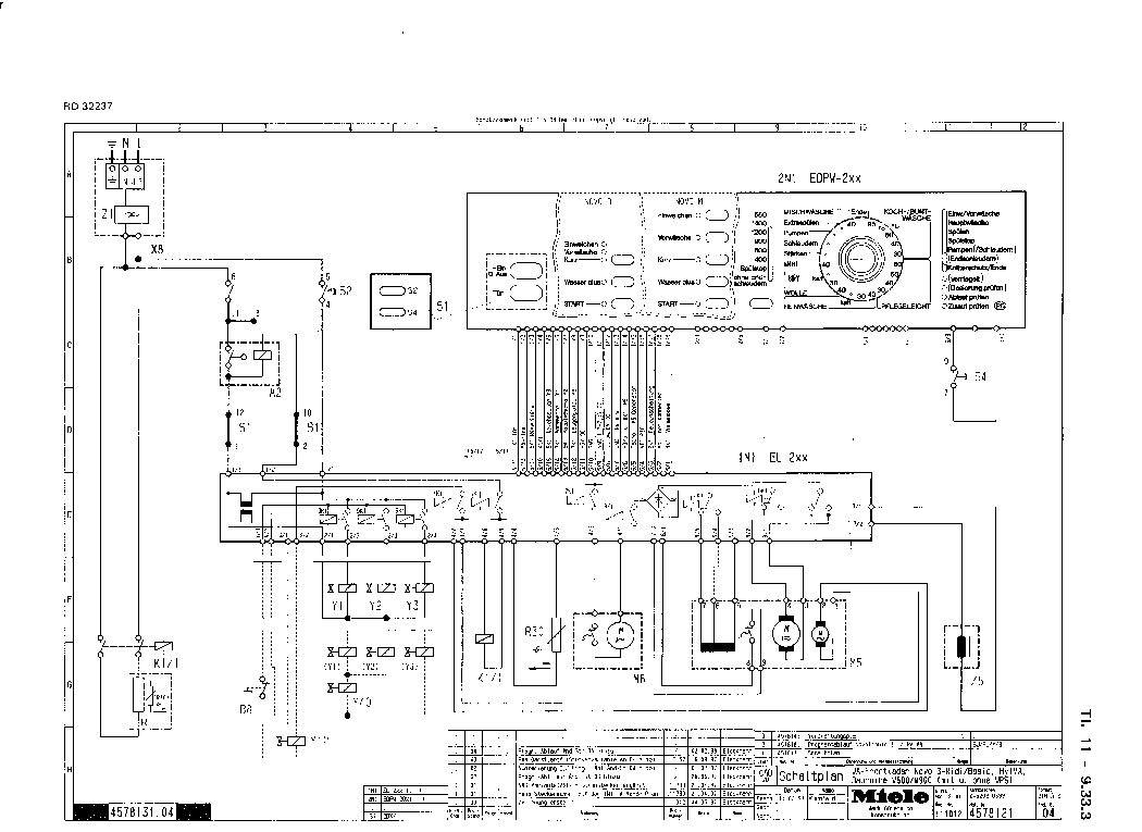 miele w800 w900 service manual download  schematics