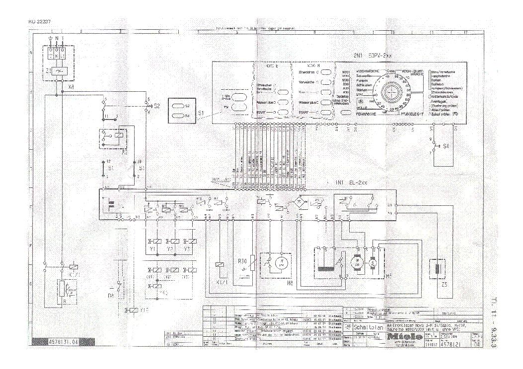 Miele W800 W900 W989 Novotronic Sm Service Manual Download