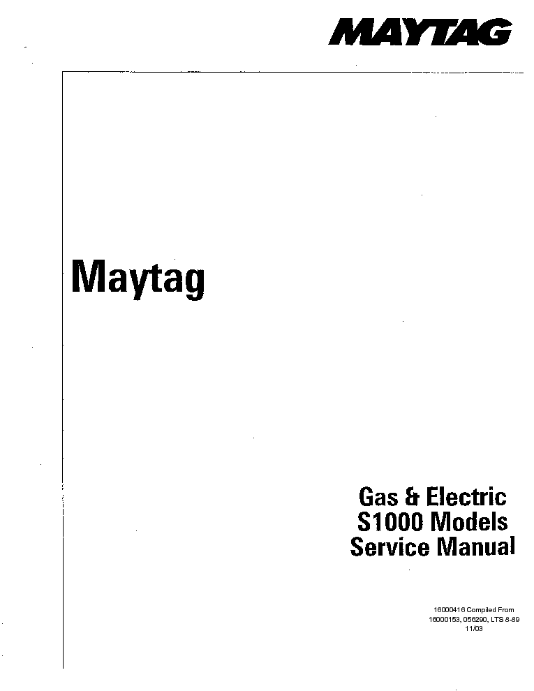 mytag washing machine