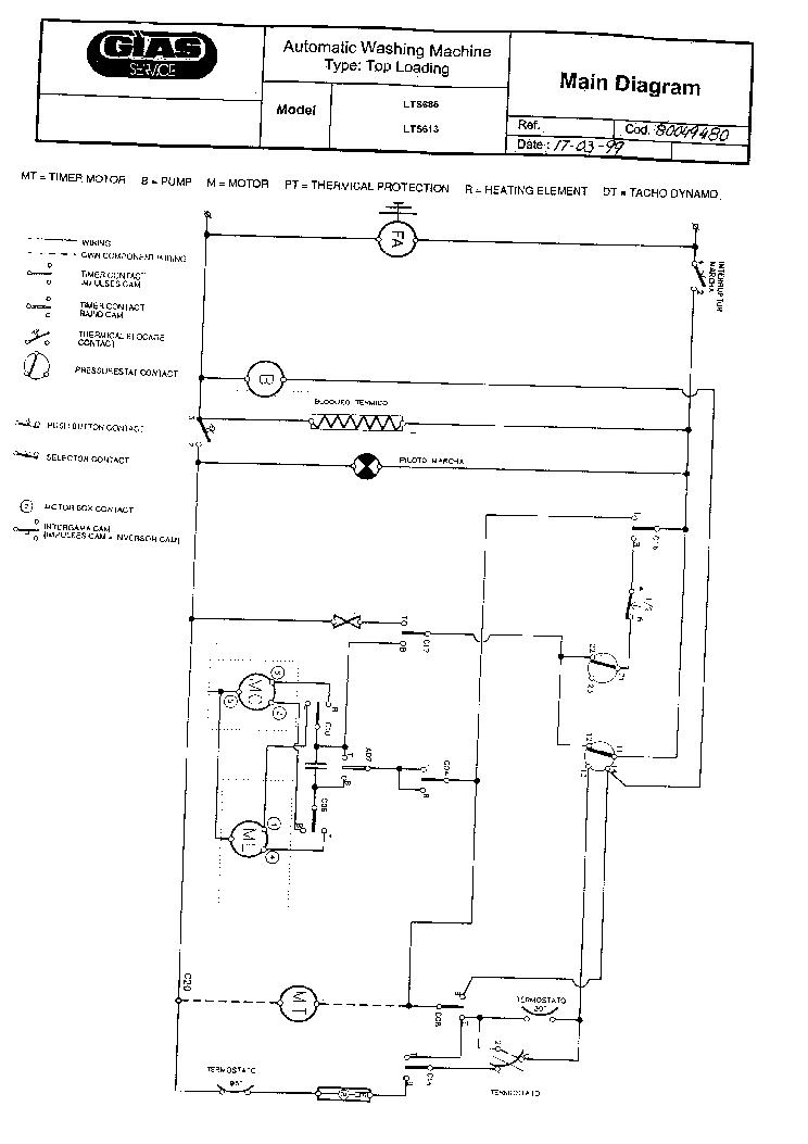Polar Lts 685 Wiring Diagram 37504750d Service Manual