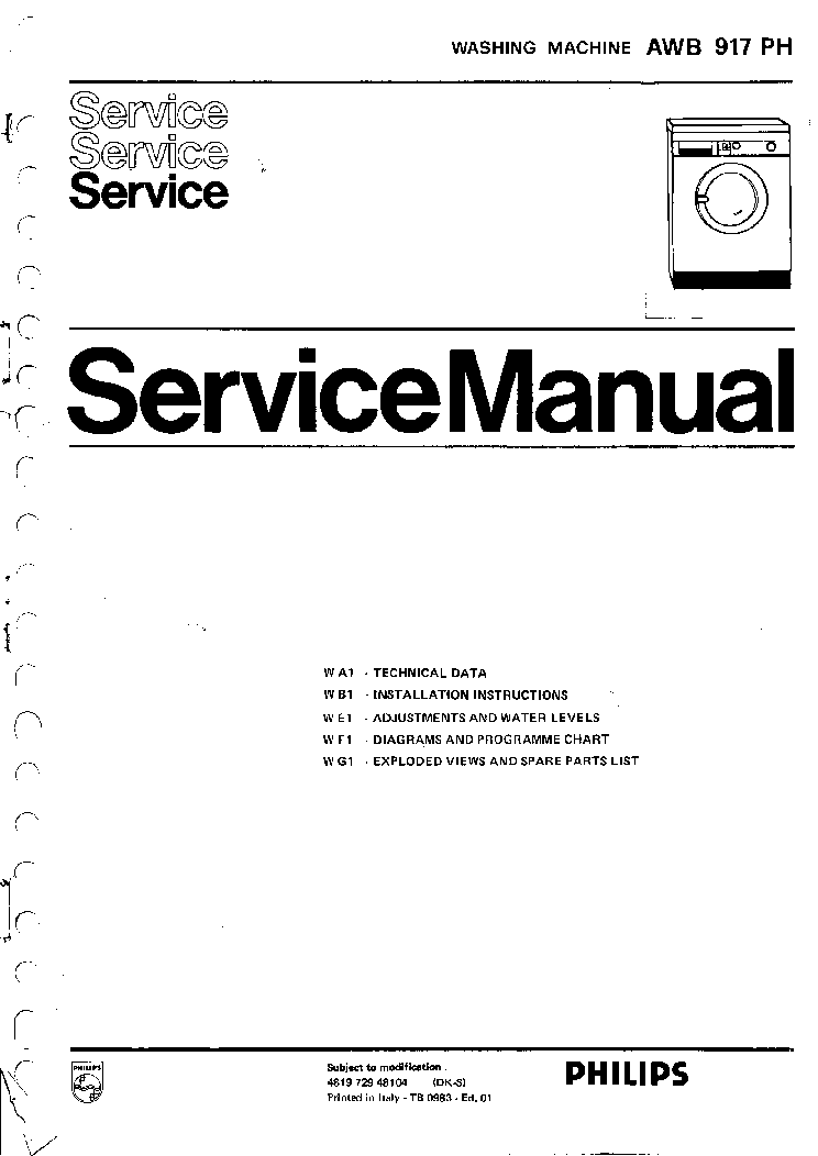 Whirlpool awb917ph service manual download schematics eeprom whirlpool awb917ph service manual 1st page solutioingenieria Gallery