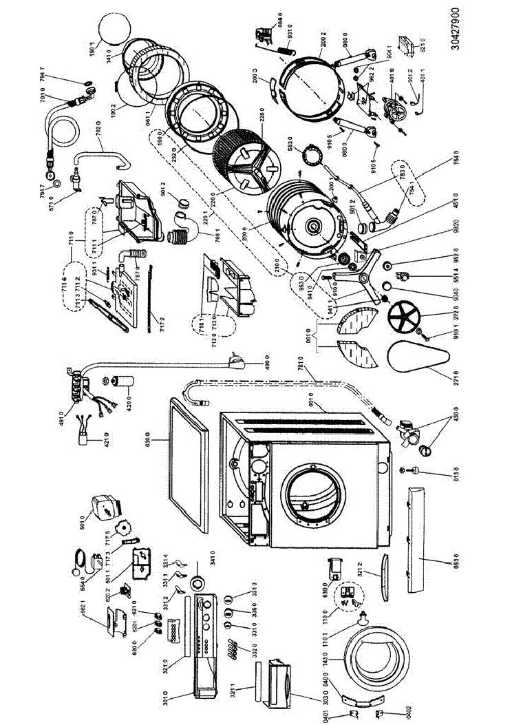 Схемы стиральных машин