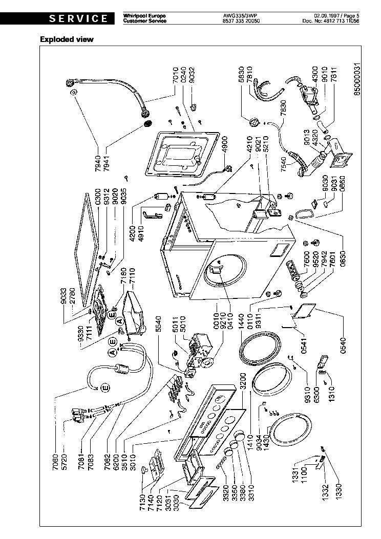 whirlpool awg 335