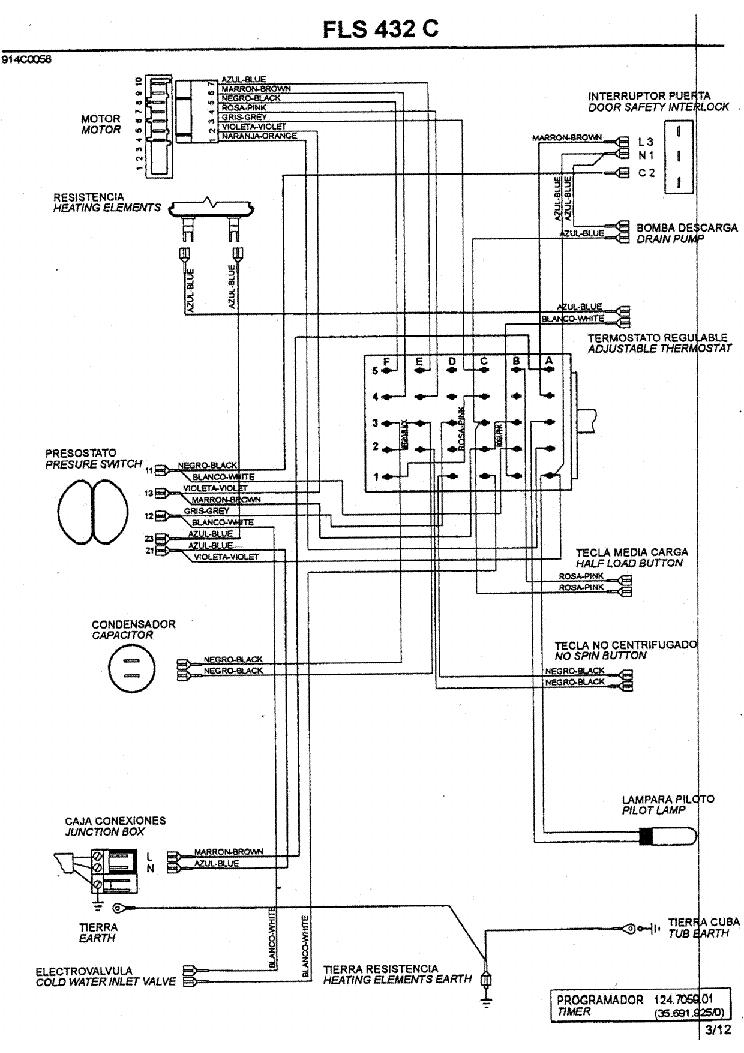zanussi fls 432c service manual download  schematics