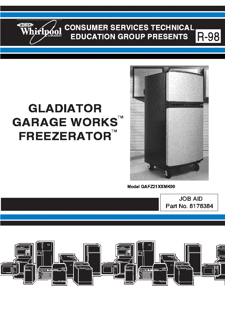 whirlpool gladiator refrigerator manual 28 images gladiator rh dev45 6vb pw Samsung Refrigerator Wiring Diagram Refrigerator Thermostat Wiring Diagram