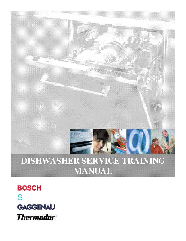 bosch dishwasher training service manual download schematics rh elektrotanya com Dishwasher Manufa First Dishwasher