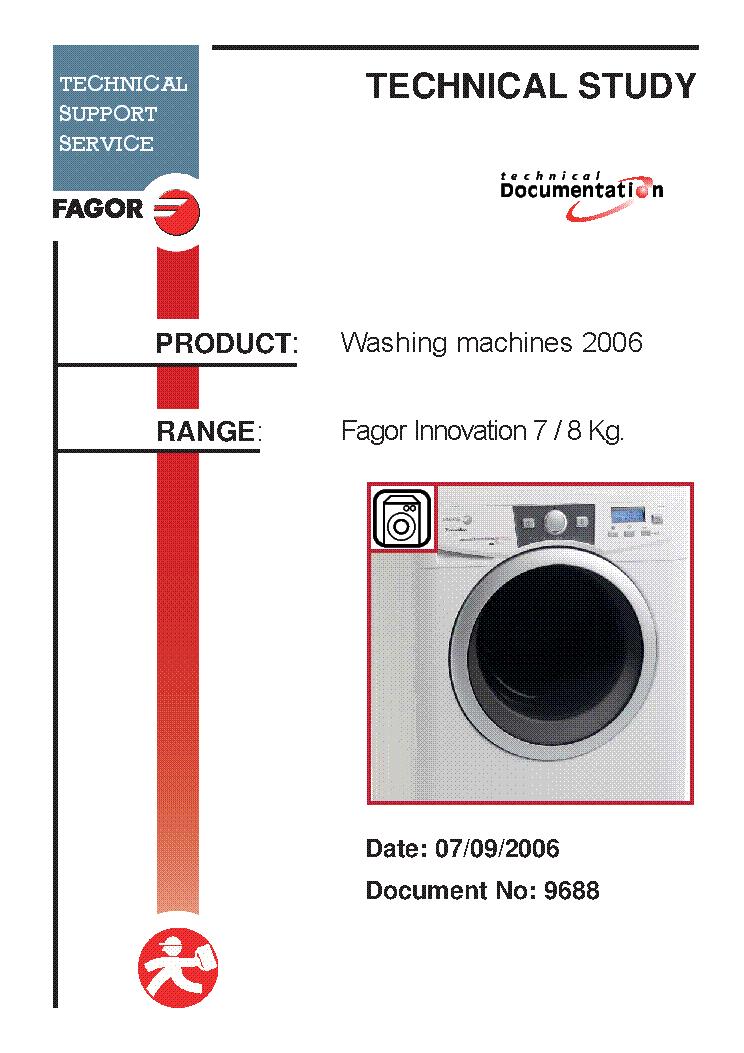 FAGOR LJF-012 ERROR CODES Service Manual download