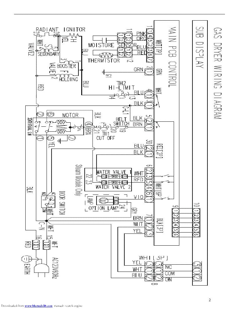 SAMSUNG DV338 DV339 DV407 DV409 DV419 DV438 DV448 SERIES