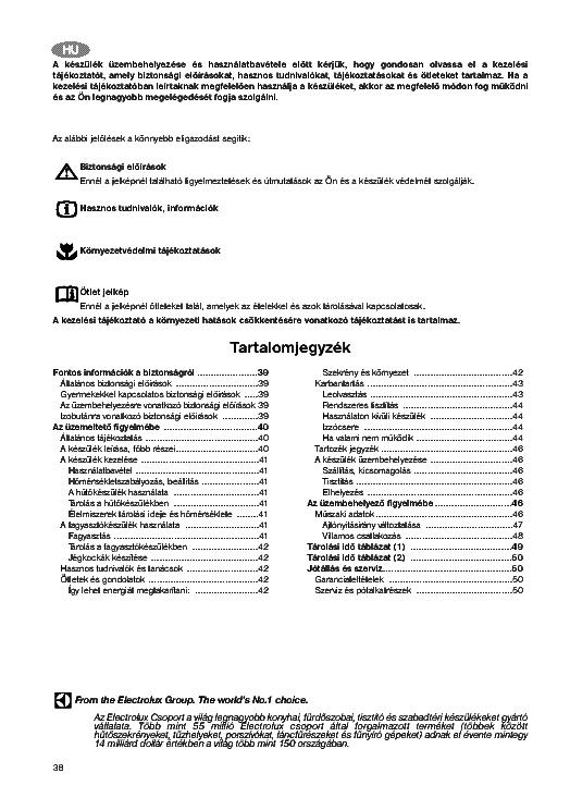 Zanussi Zk21 10ato Zlki 301 User Manual Hun Service Manual