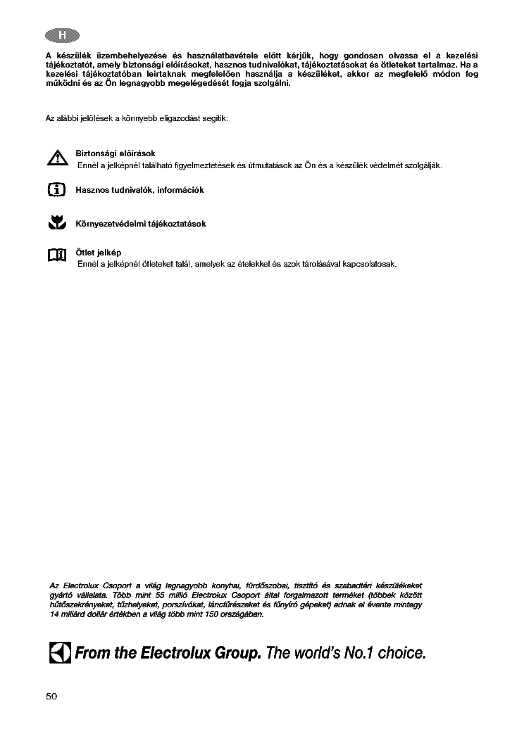 Zanussi Zt162r Zc202r Zc252r User Manual Hun Service