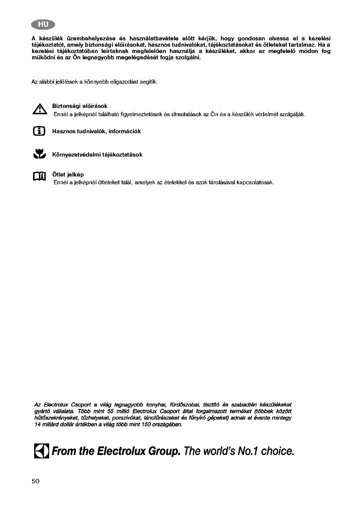 Zanussi Zv130r Tt120f User Manual Hun Service Manual