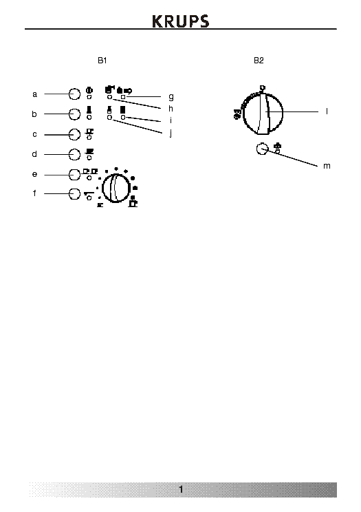 krups siziliana f 860 инструкция