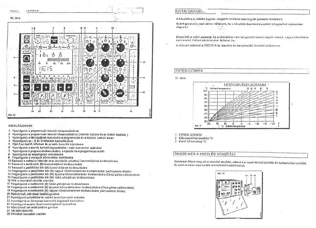 Vaillant Boiler Manuals