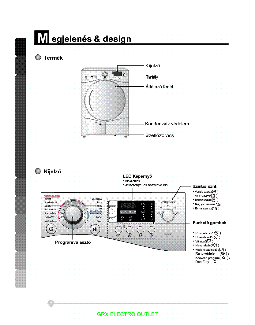 LG RC8041A3 USERMANUAL service manual (1st page)