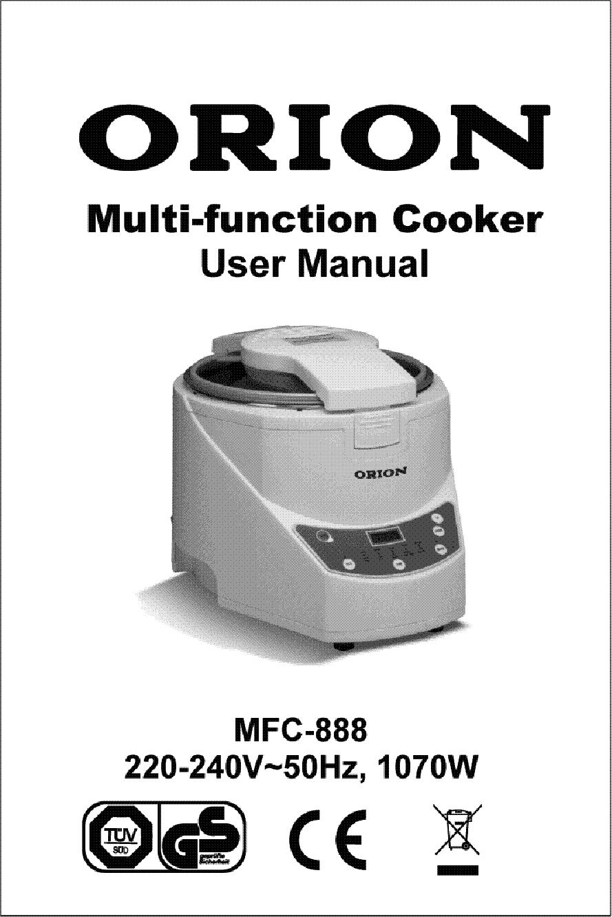 Orion Mfc888 User Hun Service Manual Download  Schematics