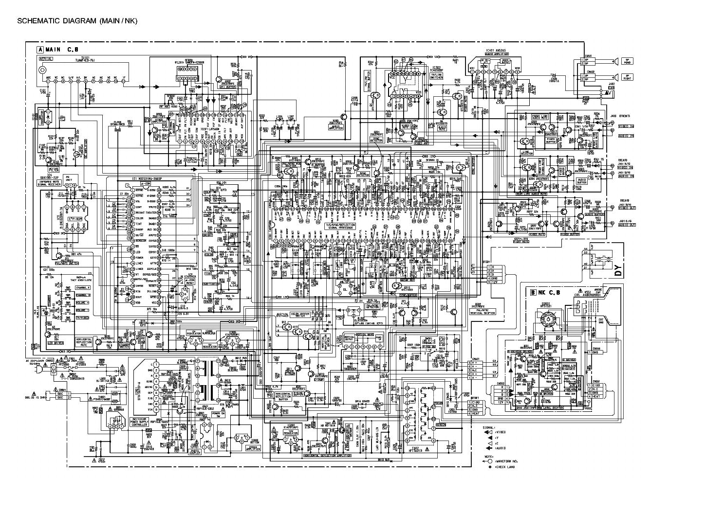 aiwa tv c202s service manual download schematics eeprom repair rh elektrotanya com aiwa tv-c141ker service manual