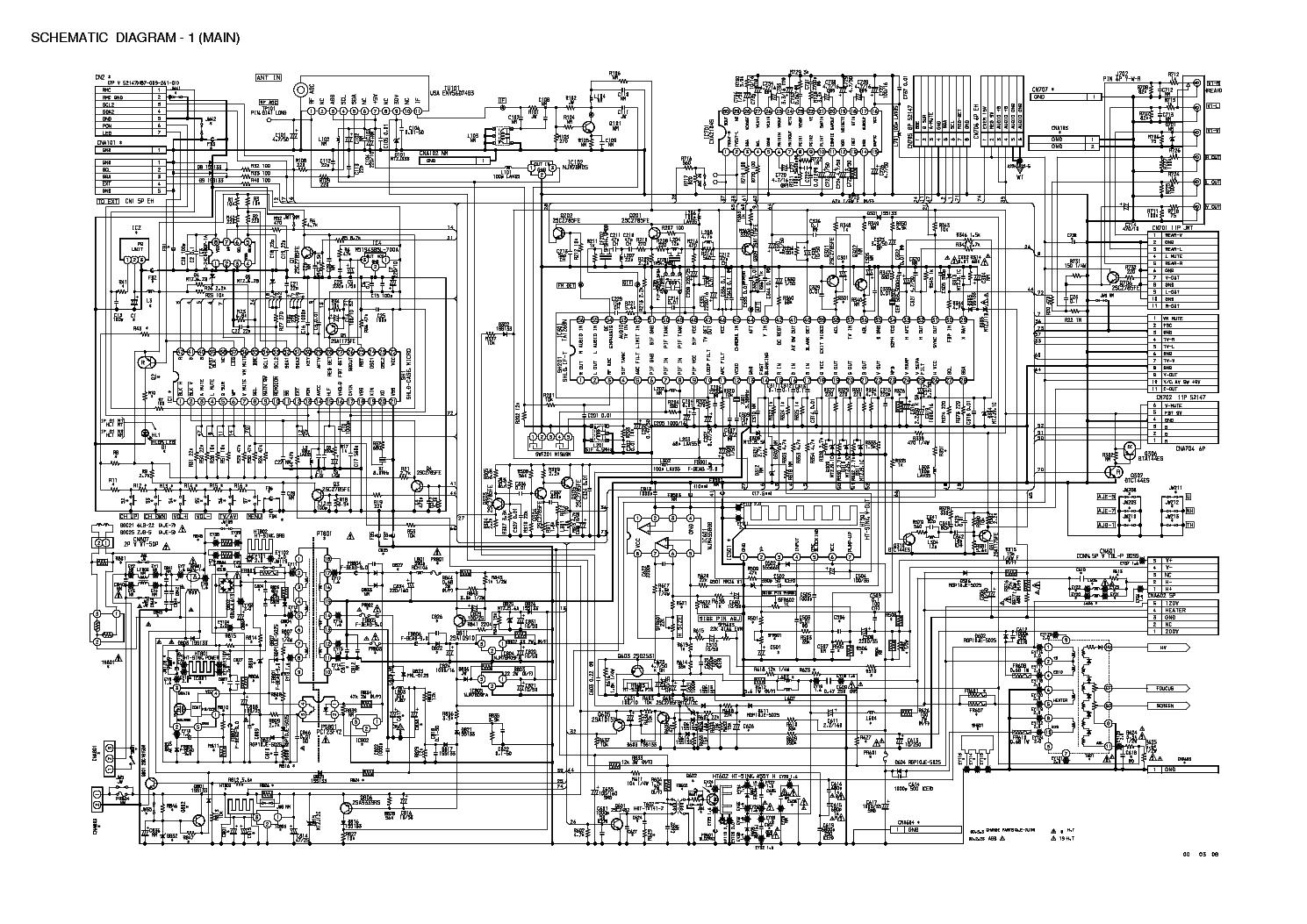 Aiwa Tv Circuit Diagram - Product Wiring Diagrams •