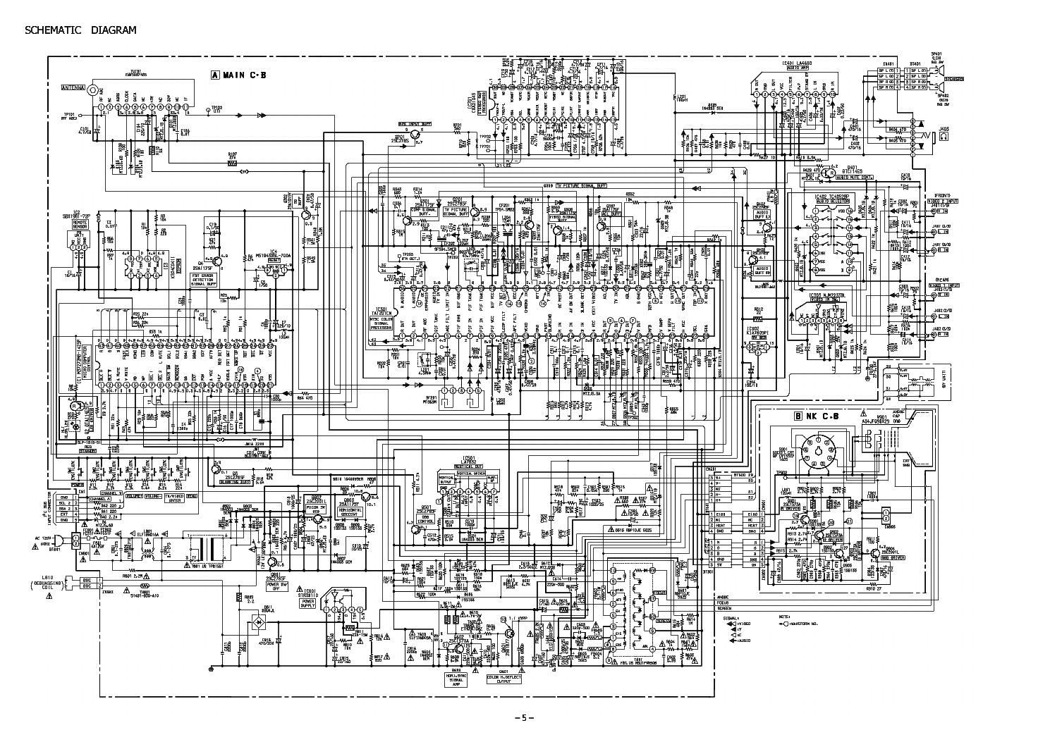 aiwa tv s1311u service manual download schematics eeprom repair rh elektrotanya com aiwa tv-c201ker service manual