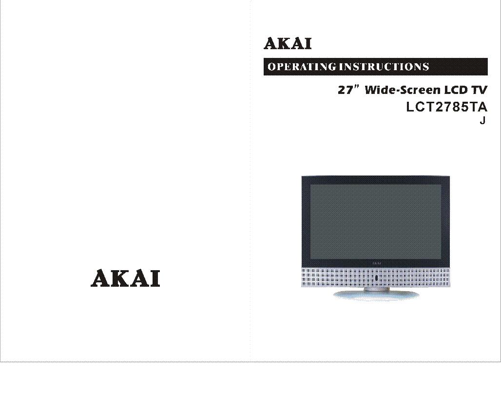 akai pdp5006m service manual download schematics eeprom repair rh elektrotanya com