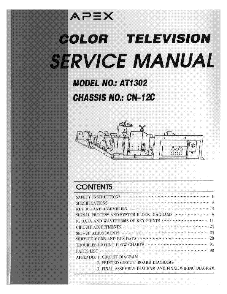 apex at2402 ch04t1002 om8839ps tda4605 tv d service manual download rh elektrotanya com Service Station Service ManualsOnline