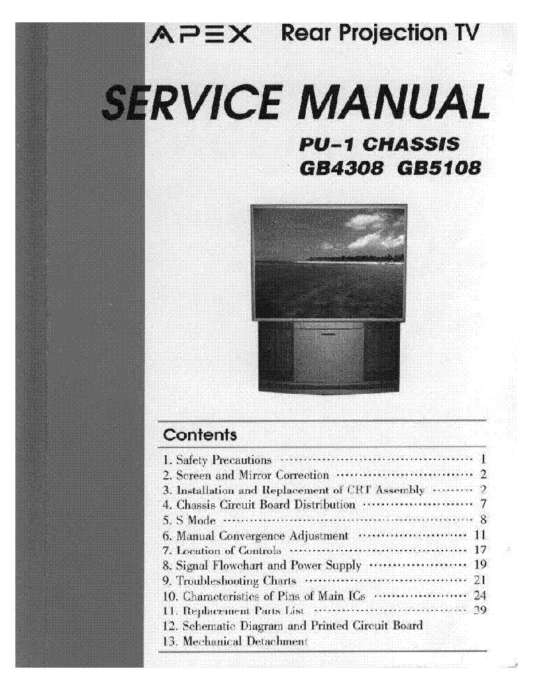 apex tv gb4308 5108 text service manual download schematics eeprom rh elektrotanya com Customer Service Books Parts Manual