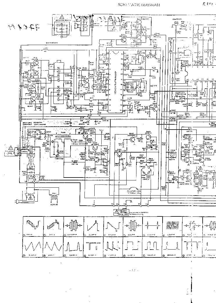 audioton condor megavision t3602rm t5103rm t5104 chassis c41 service manual download  schematics