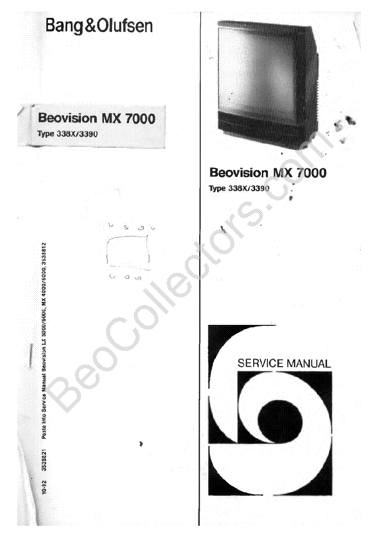 Bang & olufsen beosound 9000 mk3 service manual download manuals.