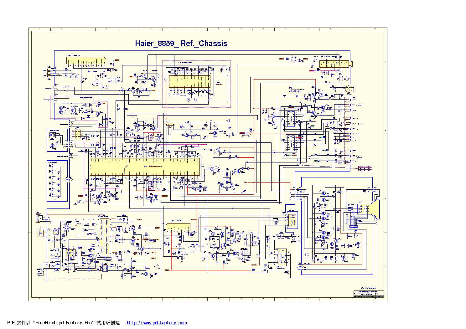 Схема тв эленберг 2170
