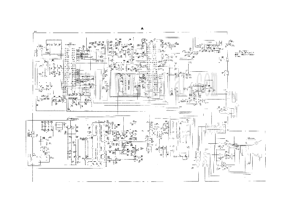 Tv Circuit Diagram