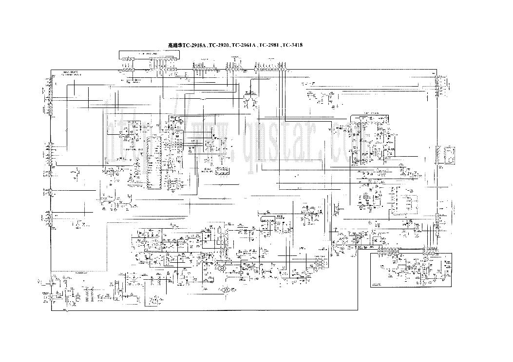 China Tv Circuit Diagram Pdf