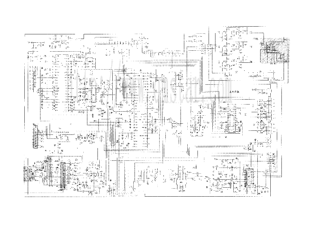 China Tv Circuit Diagram Pdf