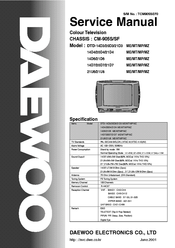DAEWOO DTH-14V5 DRIVER FOR WINDOWS 7