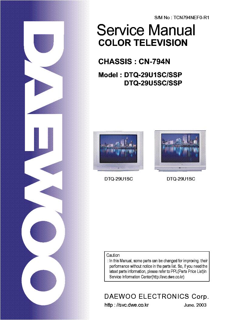 Daewoo Chassis Cn